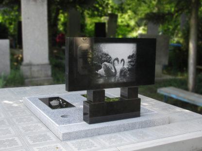 Памятник двойной из гранита 100х50 прямой-2