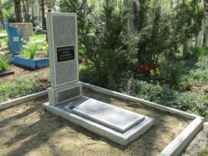 Памятник из мраморной крошки прямой-2